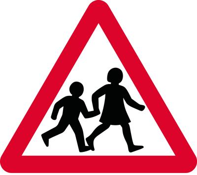 Children crossing