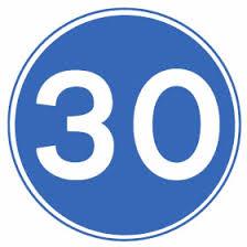 Mandatory speed limit