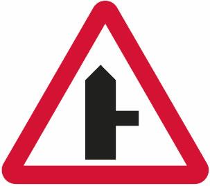T-junction ahead