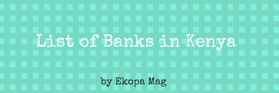 List of Banks in Kenya