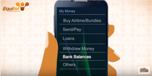 Equity Bank Account Balance