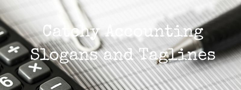 Accounting Slogans